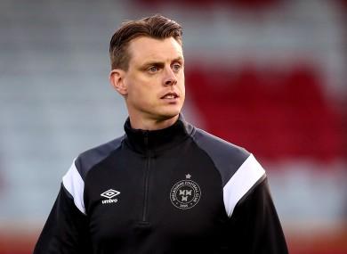 Unhappy: Shelbourne manager Ian Morris.