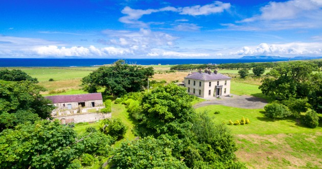 Have a ball at this grand country house with private bar on the spectacular Sligo coast