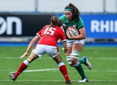 Fryday braces for contact against Wales.