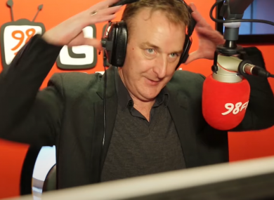 Adrian Kennedy in the hot seat at 98FM.