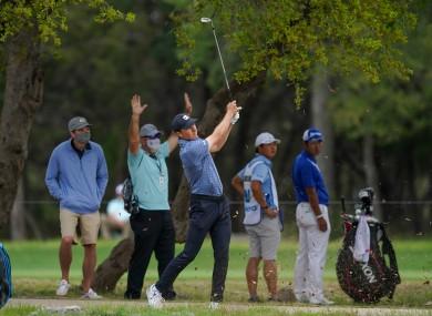 Spieth won today's Texas Open.