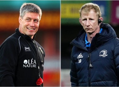 O'Gara and Cullen: Ireland team-mates now set to meet as head coaches.