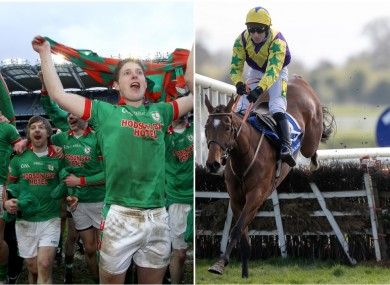 Roscommon All-Ireland club winner Cathal McHugh was part of the winning Skyace syndicate.