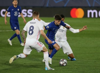 Chelsea and Real Madrid, who faced off during the week, were two of the teams involved in the proposed European Super League.
