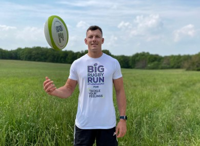 Copeland launches The Big Rugby Run.