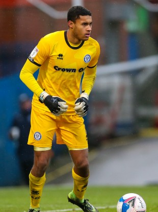Gavin Bazunu has made 32 appearances in all copmpetitions for Rochdale this season.