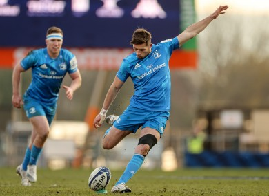 Ross Byrne was excellent off the Leinster bench.