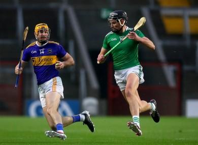 Seamus Callanan and Limerick's Gearoid Hegarty last year.