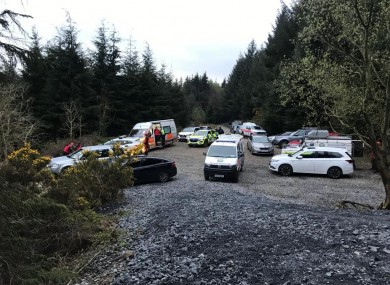 Members of the search team gathering this morning ahead of the SEMRA.