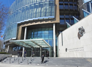 File image of the Criminal Courts of Justice in Dublin.