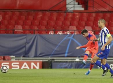 Mount opens the scoring against Porto on Wednesday.