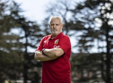 Lions head coach Warren Gatland.