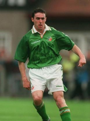 Alan McLoughlin won 42 Ireland caps in total.