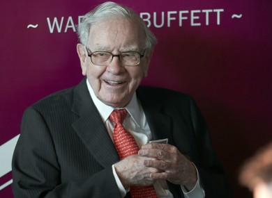 Buffett has led Berkshire for decades.
