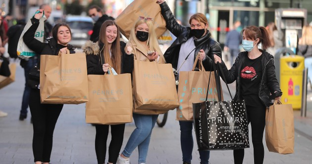Happy shoppers return to stores but city retailers warn that tourism and office workers are still key