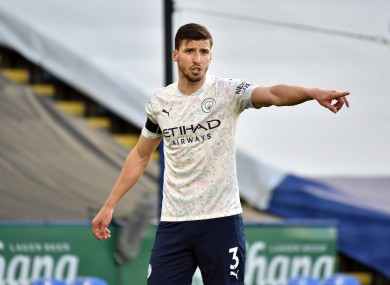 Ruben Dias has settled in remarkably well at Man City.