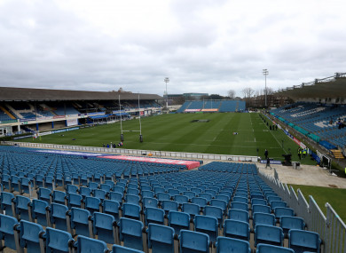 A general view of the RDS Arena in Dublin.