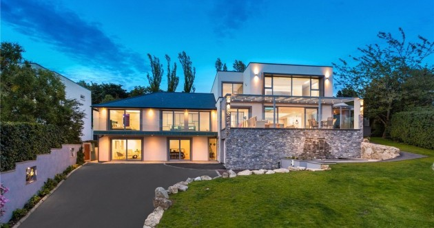 Glamour in the south Dublin hills: LA-style luxury residence for €2.85m