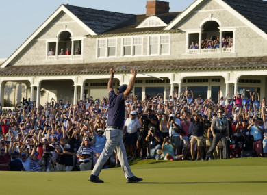 Roar on the Shore: Mickelson's win sparked euphoric scenes at Kiawah Island.