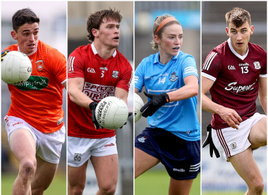 Armagh, Cork, Dublin and Galway will all be in action.