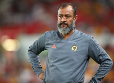 47-year-old Nuno Espírito Santo.