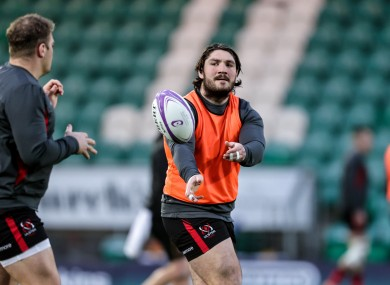 Ulster's Tom O'Toole looks to be a certain debutant.