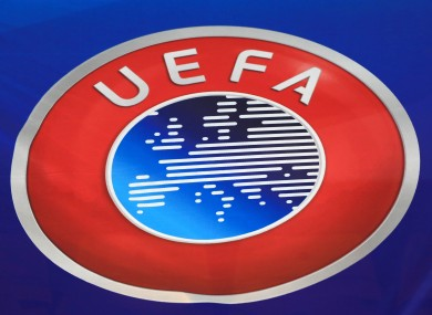 Uefa have launched the investigation.