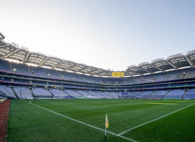 Over 2,000 fans will be allowed to attend the game at GAA headquarters.