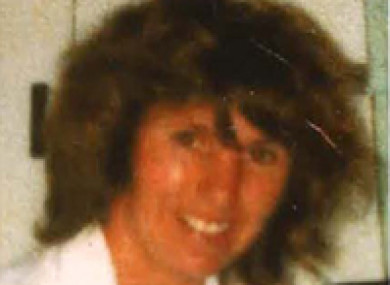 Barbara Walsh who went missing in 1985.