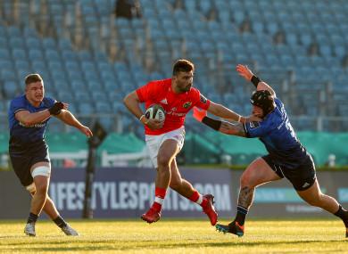 Damian de Allende in action for Munster.