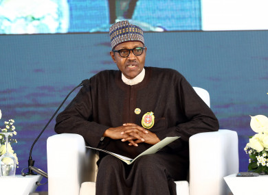 Buhari referred to the country's civil war four decades ago in a warning about recent unrest.