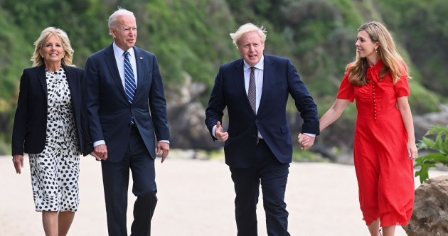 Johnson insists there's 'absolutely common ground' over NI after first meeting with Biden
