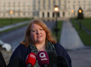 Stormont Justice Minister, Naomi Long