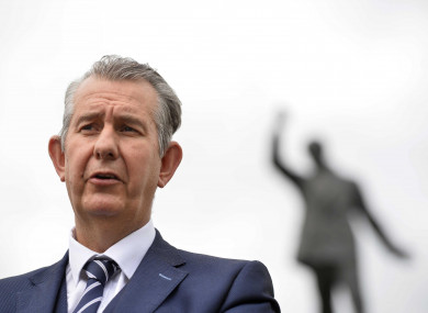 File image of Edwin Poots.