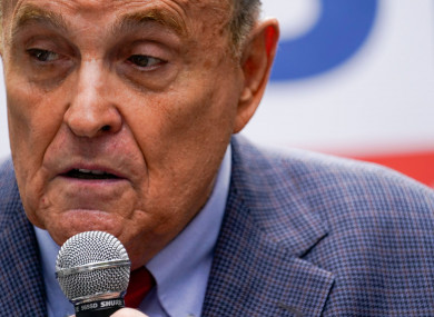 Rudy Giuliani has had his licence to practise law withdrawn over false statements he made in court.