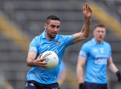James McCarthy returns to the Dublin team.