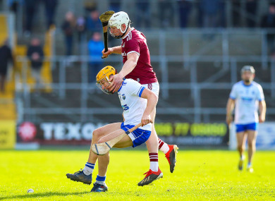 Joe Canning will be in action against Waterford on Sunday.