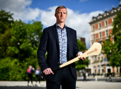 Kilkenny legend Henry Shefflin pictured at the launch of the Allianz League Legends series in Dublin.