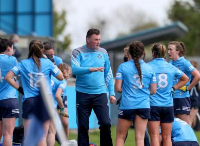 Mick Bohan with his Dublin side.