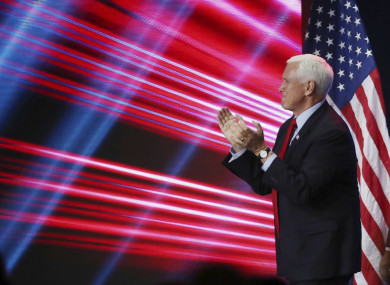 Former US vice president Mike Pence has hit out at the idea he could have overturned the result of last year's election result