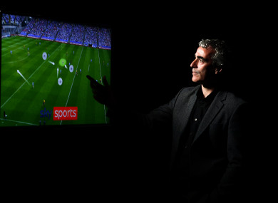 Analyst Jim McGuinness in attendance at the Sky Sports GAA launch.