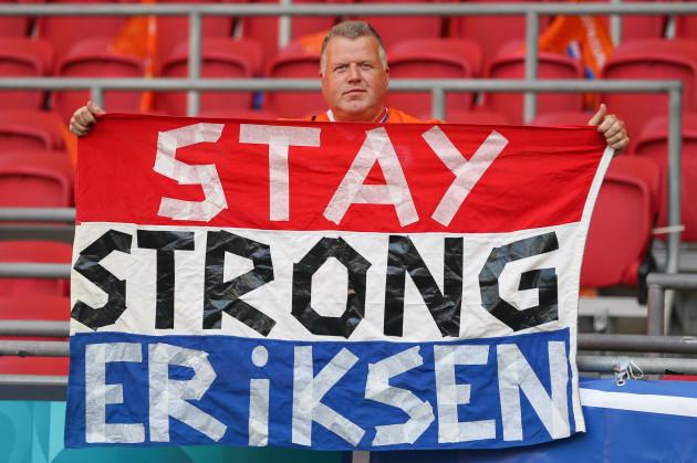 Eriksen in 'good spirits', remains under observation