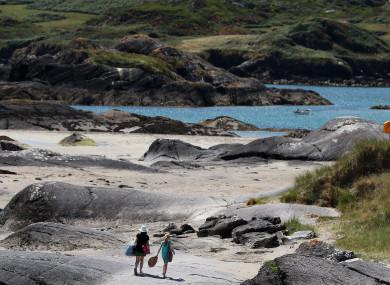 Derrynane beach, Co Kerry