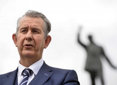 File photo of Edwin Poots.
