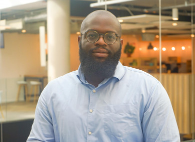 Brian Adeleye graduated from DCU Business School in 2017.