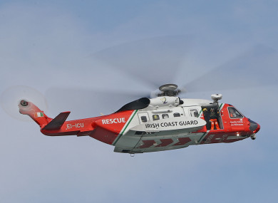 Rescue helicopter 116.