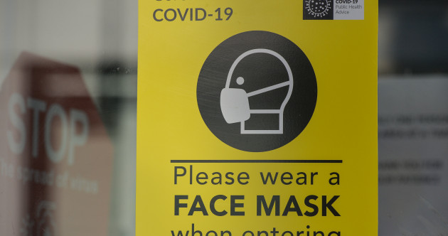 Mask-wearing in Ireland is slipping, but compliance will likely increase as Delta rises
