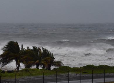 Hurricane Elsa approaches Argyle, St Vincent