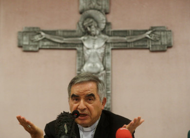 Cardinal Angelo Becciu and nine other people are accused of costing the Holy See  millions of euros.