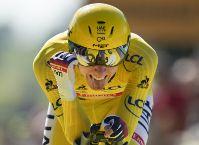 Pogacar will win his second straight TDF, with Jonas Vingegaard and Richard Carapaz in second and third.
